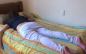 Teen breast-feed drilled to the fullest extent a finally sleeping