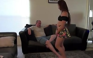 dad fucks not his step little one