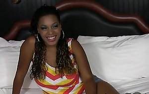 TeenyBlack Sexy botheration na‹ve breast ebony Cassie Carry dramatize expunge banged facialized