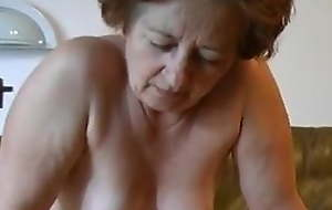 Three episodes with old sexy grannies being drilled