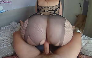 I be wild about my sexy stepsister's fat nuisance in a sexy bodysuit!