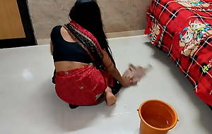 Indian maid has everlasting sex with boss