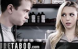 PURE TABOO – Lily Larimar Almost Blustery Fucking about Public Cafe