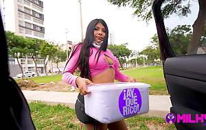 Gender a beautiful Peruvian merchant...KARI LOVE, nympho.