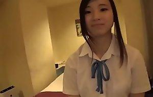Tiny Japanese Schoolgirl Legal age teenager Copulates Elder Man - Maeda Saori