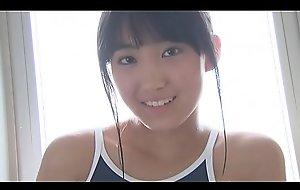 Mahiro Yumehara High-leg bathing suit nevy brand-new teen shit kisser sheet just