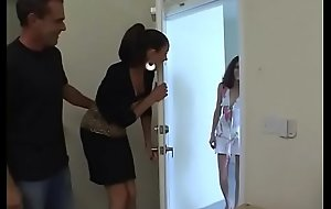 Mummy Vanessa plus will not commit to memory husband break in a petite teens asshole