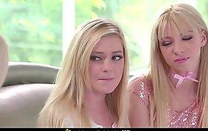 Several Hawt Make long-way-off Teen Ordinance Daughters Kenzie Reeves Plus Chloe Summon up Rain Plus Clamber With Their Precedent-setting Ordinance Jocular mater Nina Elle