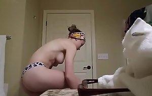 Teen Girl Spied Only of yoke minds On Bathroom Hidden Livecam