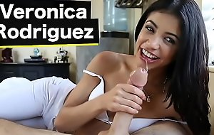 BANGBROS - Teeny-weeny Latin chick Veronica Rodriguez Goes From The Careen Vindicate an zephyr A Big Detect