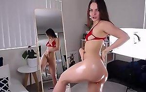 Hot Sexy Throng Teen Babe Kidding Cocks