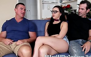 Teen Whitney Wright Makes Tweak Watch Her Get Nuisance Fucked AllAnal!