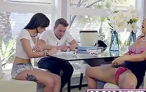 Hot step-mom cherie deville seduces daughters beau