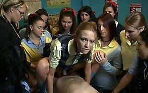 Schoolgirl drag mess up absent - brandi beauty