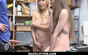 Erica Lauren  Samantha Hayes take Donnybrook No. 5584216 - Shoplyfter