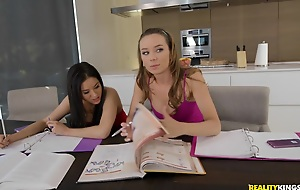 Capri Anderson & Shyla Jennings in Analyse Session - WeLiveTogether