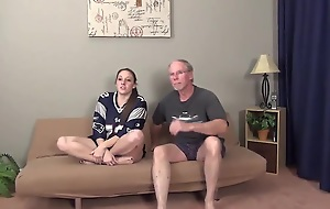 Daddy Copulates Naughty Slut