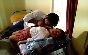 Indian foremost time college girl romance