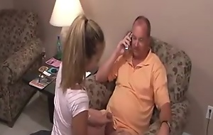 daughter sucks load of shit of not the brush dad