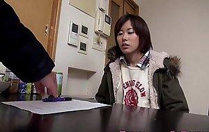 Amateur asian legal age teenager screwed on washing machine