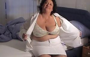 Animal huge big hanging of age plumper tits 2