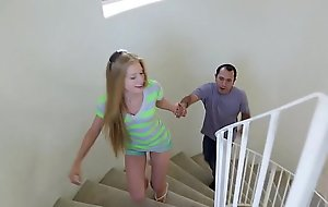 Mexican baby sitter fucks youthful legal age teenager blonde avr...