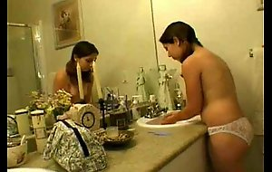 Teen hairy love tunnel screwed by 2 dudes