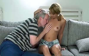 Tiny Sarah Cute loves old locate