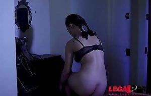 Mystic fetish aggravation drilling to latex lolita Ginebra Bellucci in a castle GP327