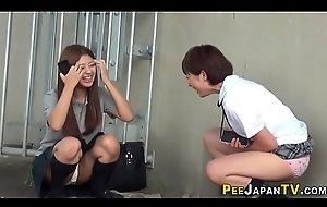 Japanese teens gush urine