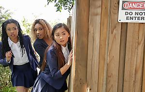 Kira Noir & Chad White in Atonal The Pool Hopper - TeensLoveHugeCocks