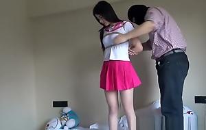 Chinese Schoolgirl Destined Up