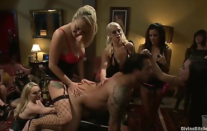 A group be proper of predominant girls screwing chap