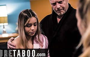 PURE TABOO Punished Teen Impregnated By Wean away from
