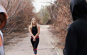 Innocent Leah Lee Turns Stale When That babe Watches BBC