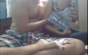 Indian father making love the brush daughter