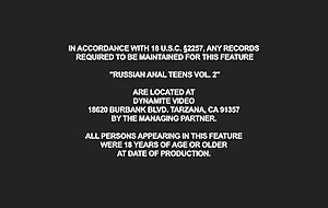 Russian Anal Teens 2