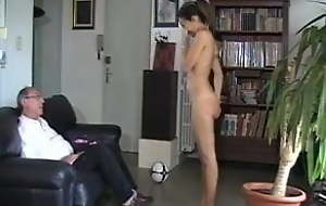 Humiliating punishment and in the altogether spanking for indoor soccer