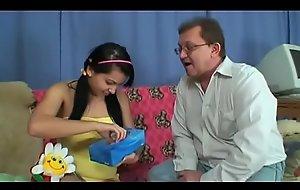 horny grandpa loves cute teen