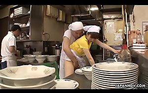 Japanese chef Mimi Asuka receives sensible of screwed round rub-down the restaurant