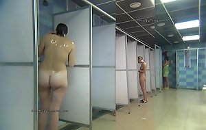 Public shower rooms suffocating livecam
