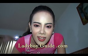 Double Ladyboys Stand in want You