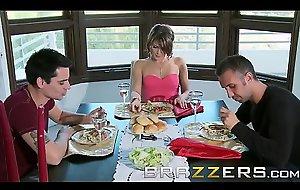 Step dad (Keiran Lee) fucks big problem gf Jenni Lee - Brazzers