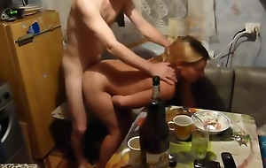 TEEN GETS DRUNK AT RUSSIAN PARTY AND GETS FUCKED
