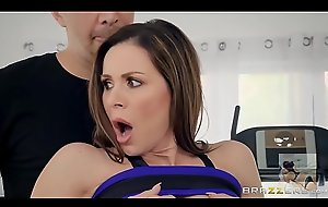 American MILF deep throats handy man
