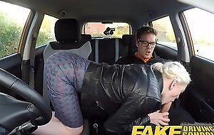 Fake activating omnibus big tits Victorian pussy pupil has creampie plus sprays