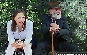 Realitykings - nubiles love massive rods - (abella danger) - bus bench creepin