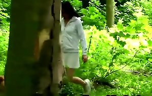 A slutty brunette legal age teenager blows grandad porno video detect and gets banged in nature