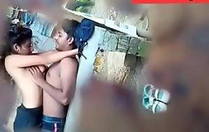 Desi Indian teen couple Outdoor Part 1
