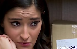 Brunette Tiny Legal age teenager Forced By Bobby Be worthwhile for A Bail- Emily Willis